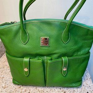 Dooley & Bourke crescent satchel tote